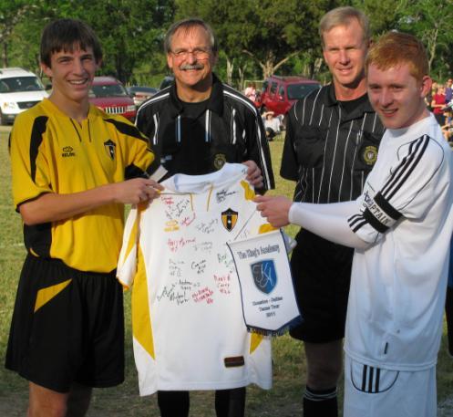 Image: Kings Academy Signed Shirt
