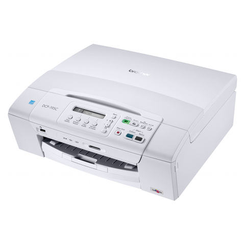 Brother DCP-195C A4 Multifunction Colour Inkjet Printer