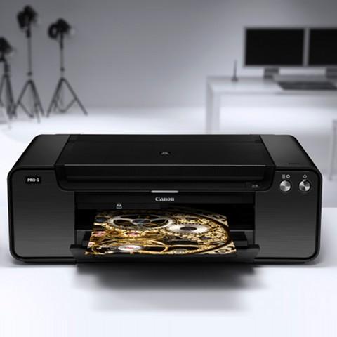 Canon PIXMA Pro 1 A3+ Colour Inkjet Photo Printer