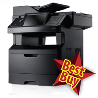 Image: Dell 3335dn Mono Laser Multifunction Printer
