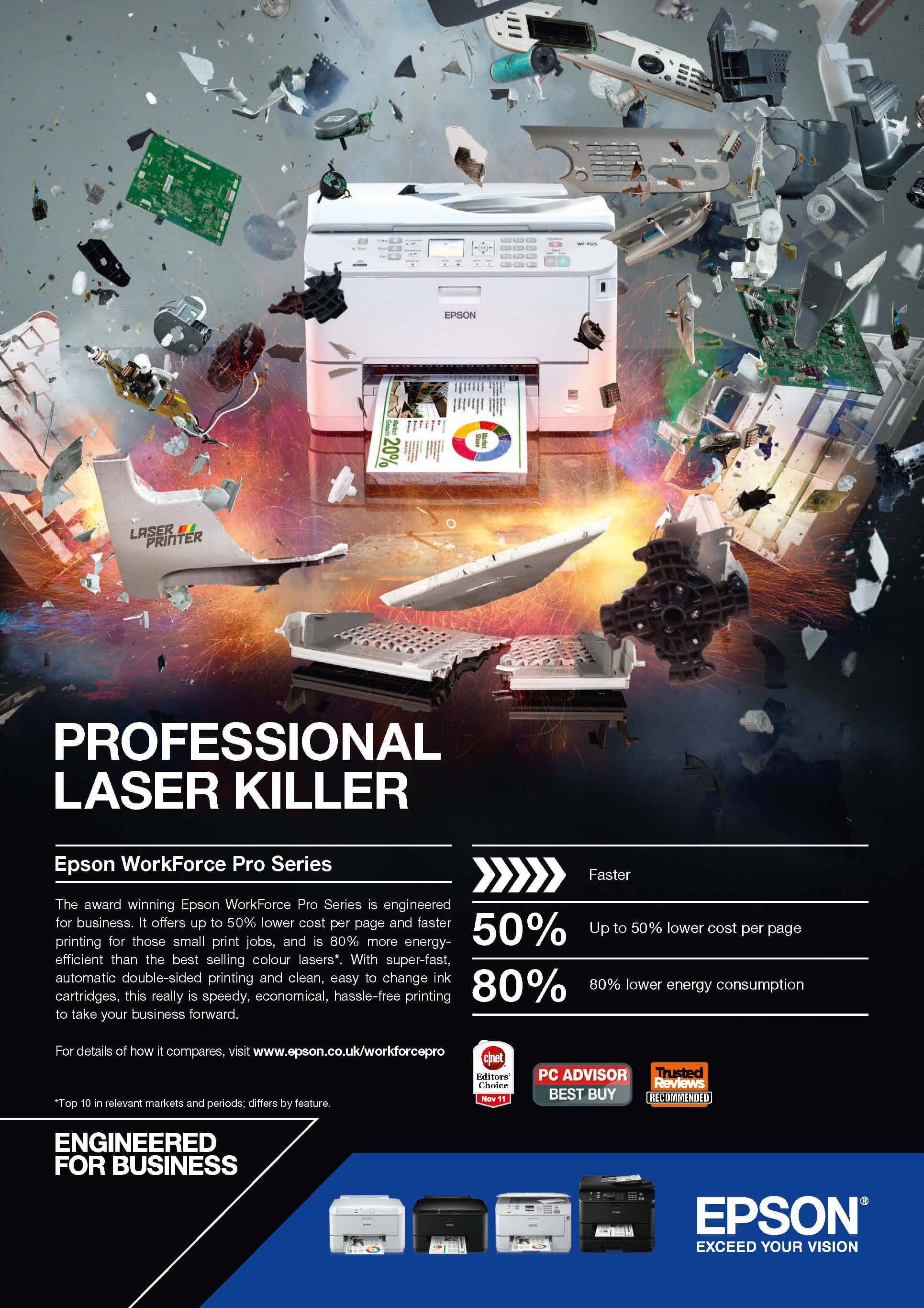 Epson Release Latest Campaign For Workforce Pro Range