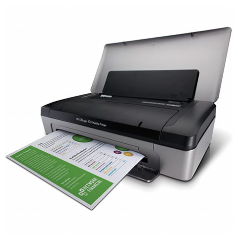 HP OfficeJet 100 A4 Mobile Inkjet Printer