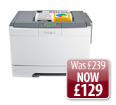 Image: Lexmark C543dn Colour Laser Printer