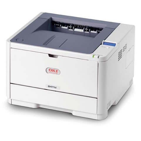 Oki B411dn A4 Mono LED Printer