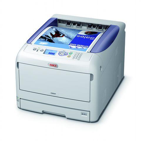 Oki C831cdtn A3 Colour LED Printer