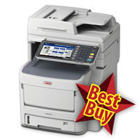 Oki MC760dn A4 Colour LED MFP