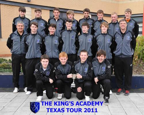 Image: Kings Academy wearing their Printerbase kit - PostCard