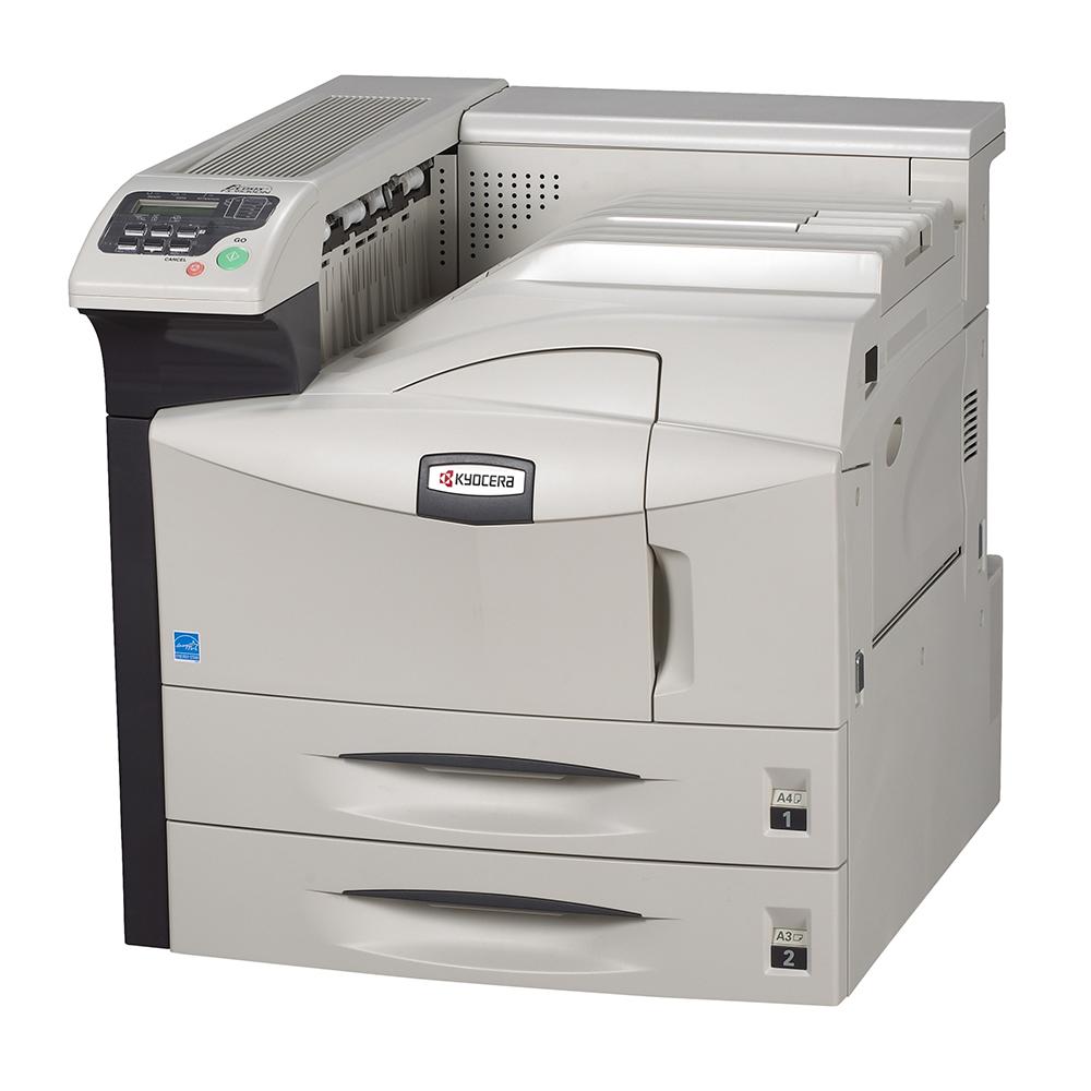 An image of Kyocera FS-9130DN A3 Mono Laser Printer,1102GZ3UK0, duplex, network, USB