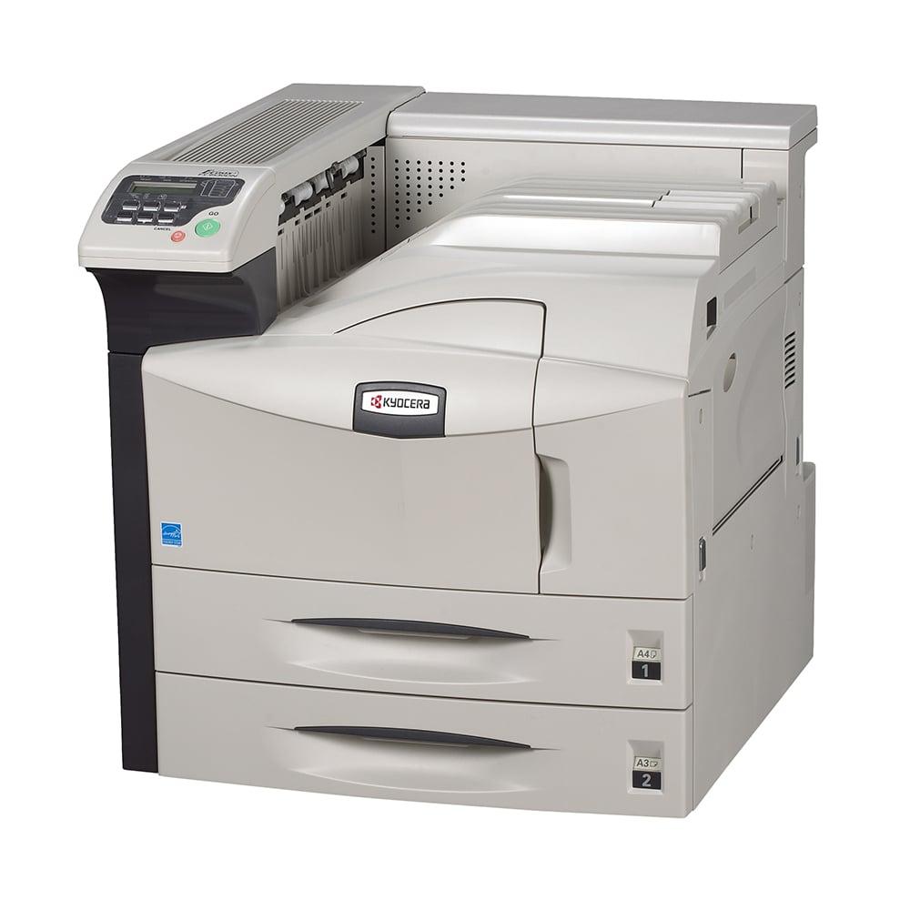 An image of Kyocera FS-9530DN A3 Mono Laser Printer,1102G13UK0, duplex, network, USB