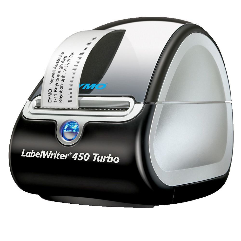 An image of DYMO LabelWriter 450 Turbo Thermal Label Printer,S0838860