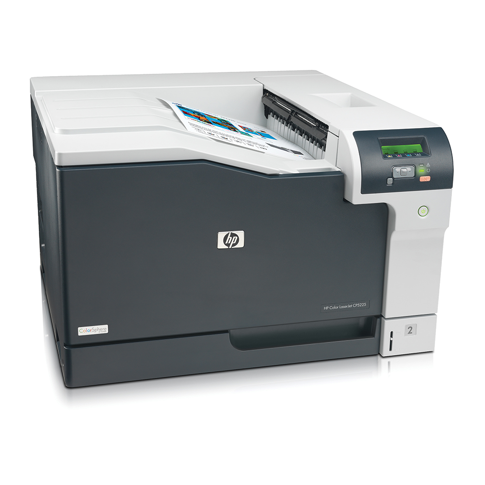 An image of HP LaserJet Professional CP5225 A3 Colour Laser Printer,CE710A, USB
