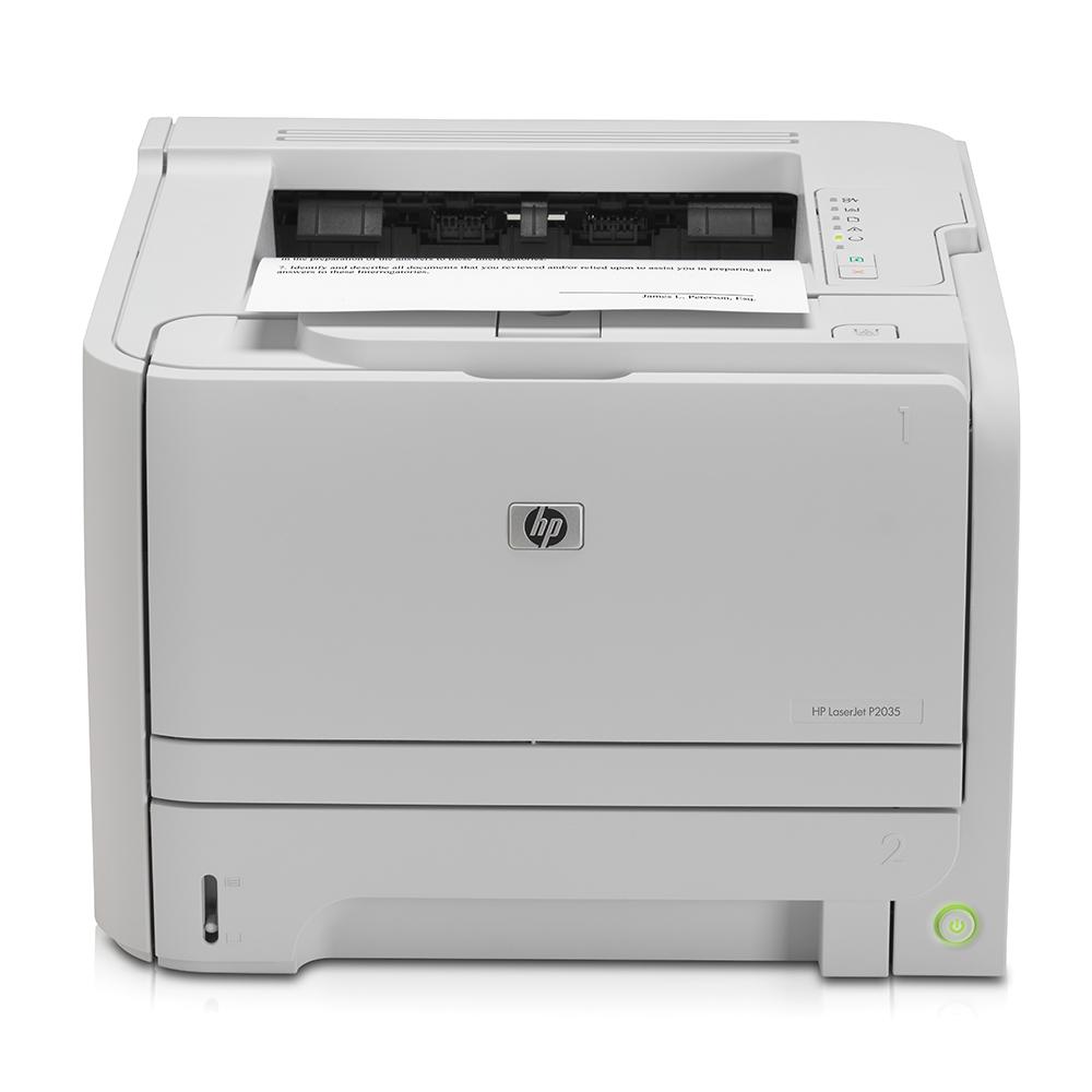 An image of HP Laserjet P2035 A4 Mono Printer,CE461A, USB
