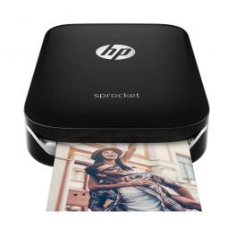 HP Sprocket ZINK Zero Ink Photo Printer (Black) Printer Ink & Toner Cartridges