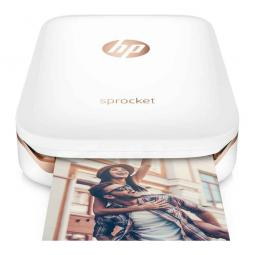 HP Sprocket ZINK Zero Ink Photo Printer (White) Printer Ink & Toner Cartridges
