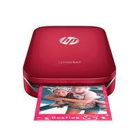 HP Sprocket ZINK Zero Ink Photo Printer (Red) - Ink Cartridges