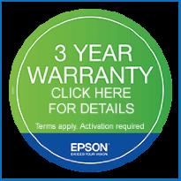 Epson 3-Year Warranty