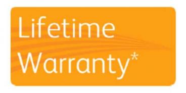 Xerox Lifetime Warranty