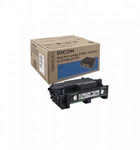 Ricoh 407008 AIO Black Toner Cartridge (15,000 prints at 5%) (not compatible with SP4100nl) 402810