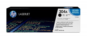 HP CC530A Black Toner Cartridge (3,500 pages*)
