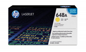 HP CE262A Yellow Toner Cartridge (11,000 pages*)