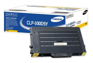 Samsung CLP-500D5Y Yellow Toner (5,000 pages @ 5%) CLP-500D5Y/SEE