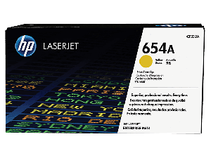 HP CF332A 654A Yellow Toner Cartridge (15,000 pages*)