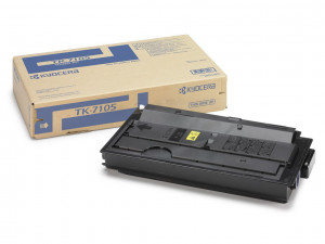 Kyocera TK-7105 Black toner cartridge (20,000 pages) 1T02P80NL0