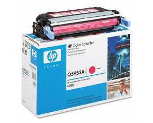 HP Q5953A Magenta Print Cartridge with ColorSphere (10,000 pages*)