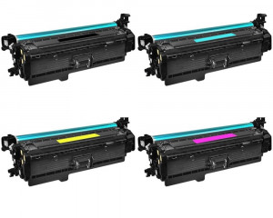 HP CMYK Toner Cartridge Kit