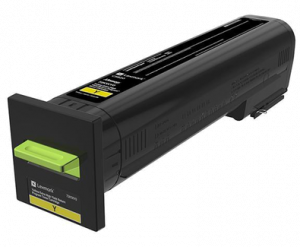 Lexmark 82K2UY0 Ultra High Yield Yellow Return Programme Toner Cartridge (55,000 Pages*)