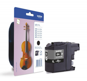 Brother LC127XLBK Black Ink Cartridge (1,200 pages*)