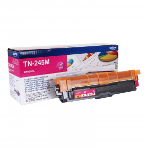 Brother TN-245M High Yield Magenta Toner Cartridge (2,200 pages*) TN245M