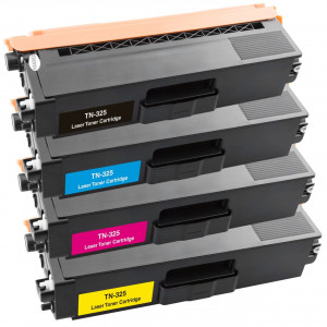 Brother PB-TN325VAL TN325 High Yield CMYK Toner Cartridge Pack