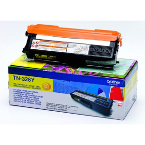 Brother TN-328Y Extra High Yield Yellow Toner (6,000 pages*) TN328Y