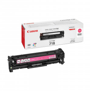 Canon 2660B002AA 718 Magenta Toner Cartridge (2,900 pages*)