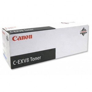 Canon 7628A002AA C-EXV8 Cyan Toner (25,000 pages*)