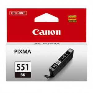 Canon CLI-551BK Black Ink Cartridge (1,795 pages*) 6508B001