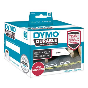 Dymo 1933087 Durable Large Shelving Labels