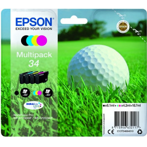 Epson Standard CMYK 34 Ink Cartridge Multipack