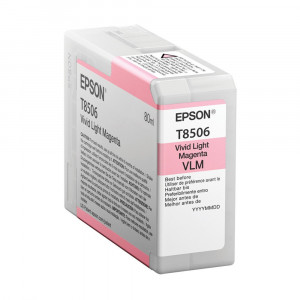 Epson T850600 Vivid Light Magenta Ink Cartridge (80ml)