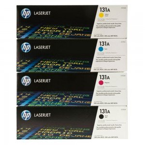 HP 131A CMYK Toner Cartridge Multipack