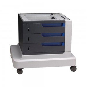 HP 3 x 500-sheet paper feeder and stand