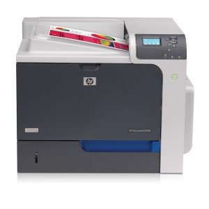 HP Color LaserJet CP4025n A4 Colour Laser Printer front view 1