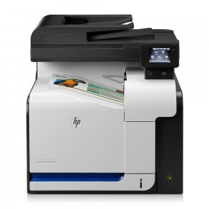HP LaserJet Pro M570dw A4 Colour Laser MFP with Fax Front View 1