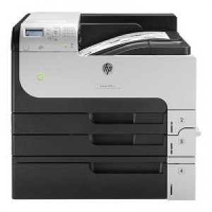 HP LaserJet Enterprise M712xh A3 Mono Laser Printer front