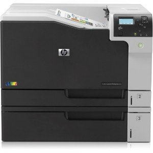 HP LaserJet Enterprise M750dn SRA3 Colour Laser Printer Front View 1