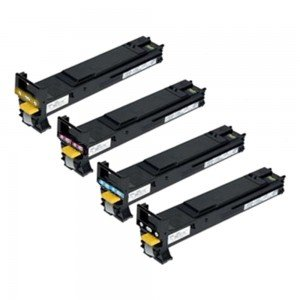 Konica Minolta PB-KMMC4695VAL High Yield CMYK Toner Cartridge Pack (Save
