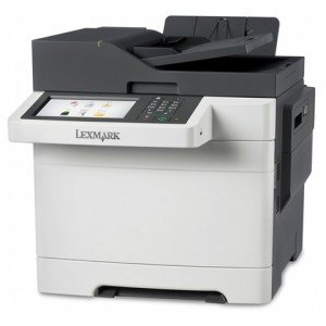 Lexmark CX510de A4 Colour Laser MFP front view right view