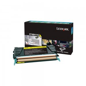 Lexmark High Yield Yellow Return Program Toner Cartridge (10,000 pages*)