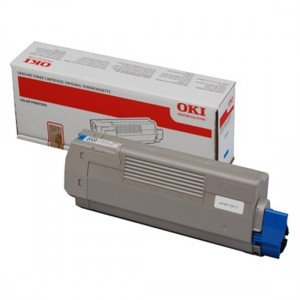 Oki 44059167 Cyan Toner Cartridge (7,300 pages*)